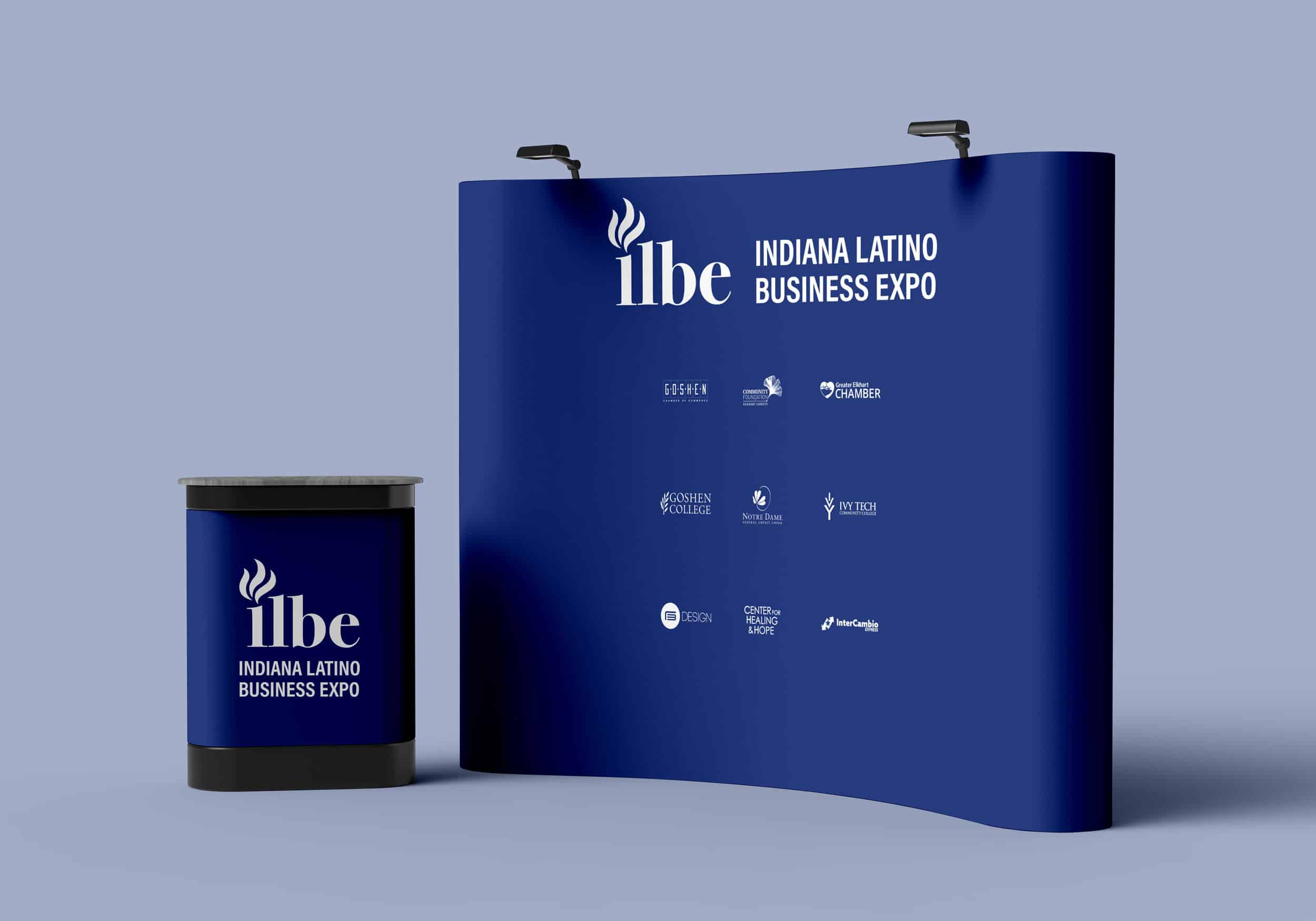 ILBE exhibition mockup.